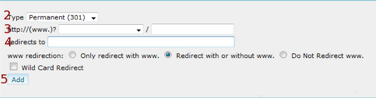 Creating URL Redirect in cPanel image 3